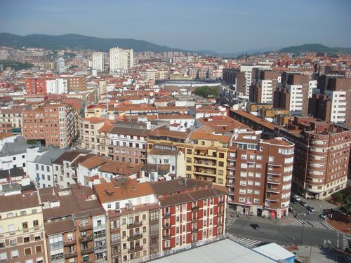 Bilbao from the 18th floor DSC04393